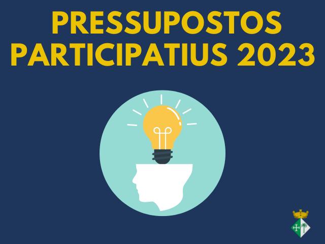 Pressupostos Participatius 2022